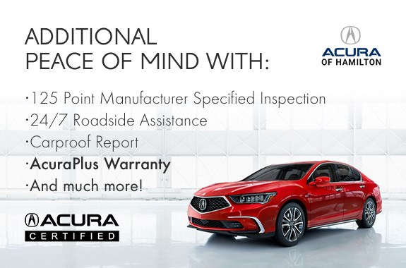 Acura Certified Peace of Mind